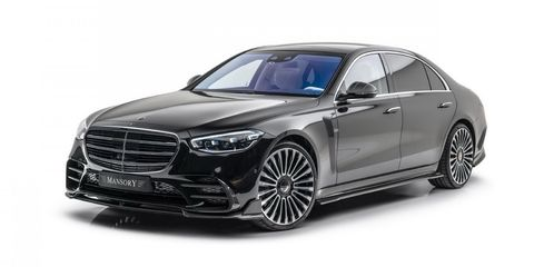 mercedes clase s 2021 by mansory