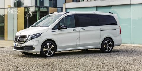 Mercedes-Benz EQV Is an Electric Minivan with Premium Touches