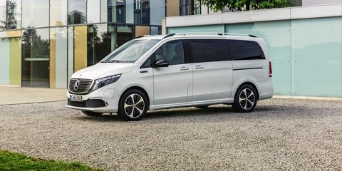 Mercedes Mini Van >> Mercedes Benz Eqv Is An Electric Minivan With Premium Touches