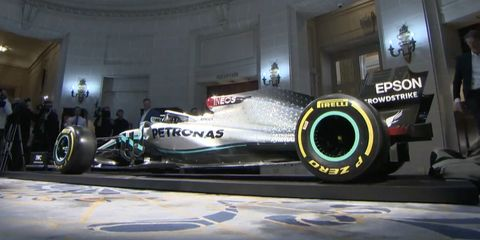 Mercedes F1 decoracion 2020