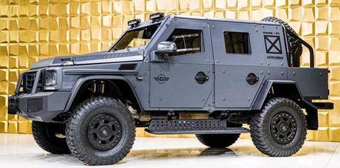 Mercedes-Benz G 500 4x4² ENOK P1