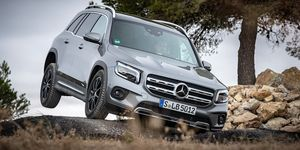 Mercedes GLB - off road