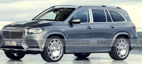 Mercedes-Maybach GLS rendering