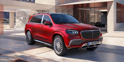 See Photos of the Mercedes-Maybach GLS600