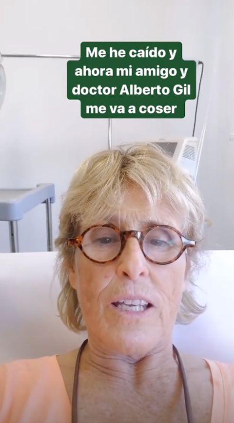 Mercedes Milá, Mercedes Milá accidente