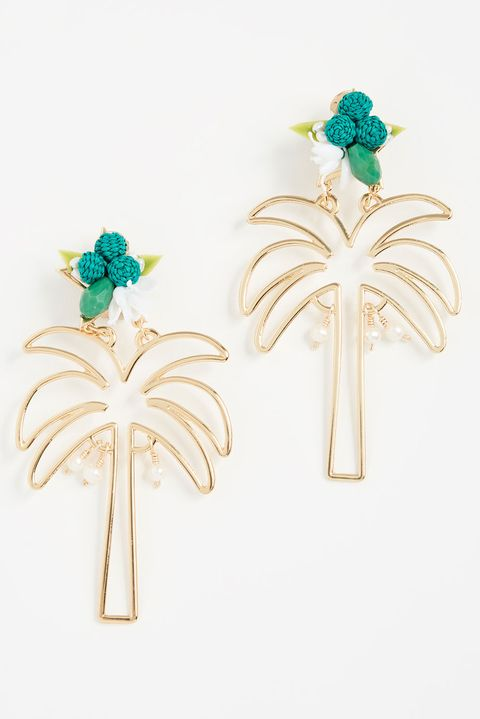 Jewellery, Earrings, Fashion accessory, Turquoise, Emerald, Brooch, Plant,