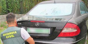 Mercedes CLK robado
