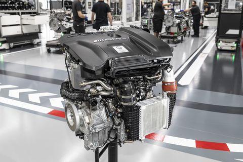 m139 engine mercedes