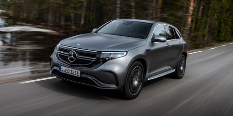 2020 Mercedes-Benz EQC Crossover, First of New EV Lineup, Starts at $68,895