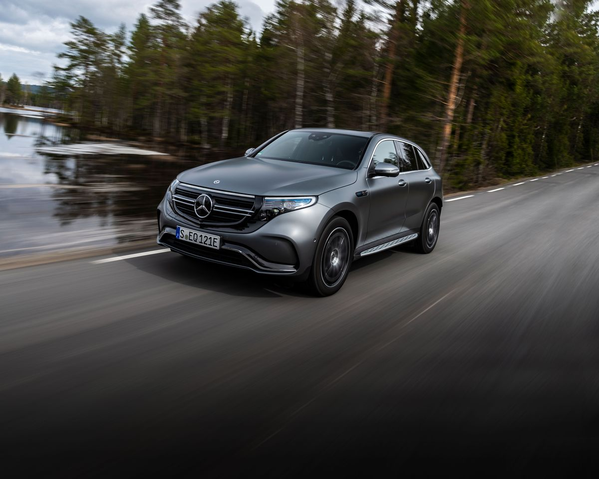 2020 Mercedes Benz Eqc First Of New Ev Lineup Starts At 68 895
