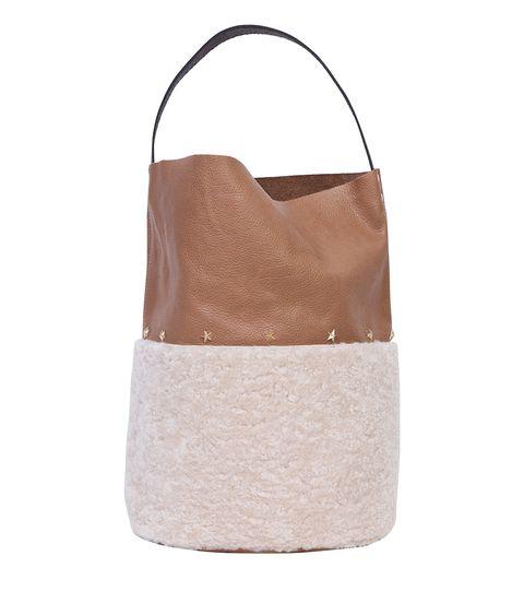 Bag, Brown, Beige, Handbag, Leather, Hobo bag, Fashion accessory, Fawn,