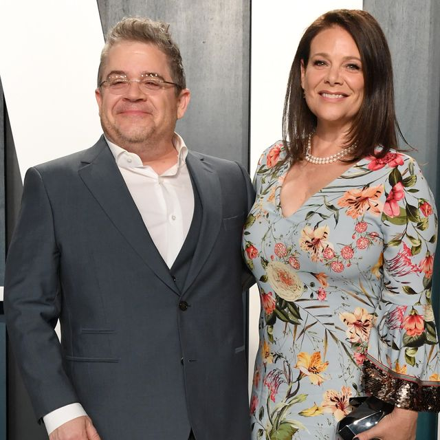 patton oswalt and meredith salenger attends the 2020 vanity fair oscar party hosted by radhika jones at wallis annenberg center for the performing arts on february 09, 2020 in beverly hills, california photo by jon kopaloffwireimage