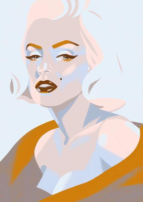 Face, Skin, Head, Eyebrow, Beauty, Illustration, Cheek, Forehead, Lip, Art,