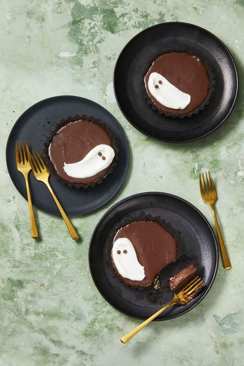 meringue ghost tarts
