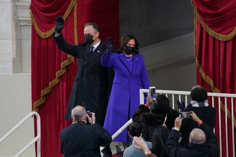 2021 inauguration, fashion, politics, historical moment, january 20, 2021, joseph biden, kamala harris, style