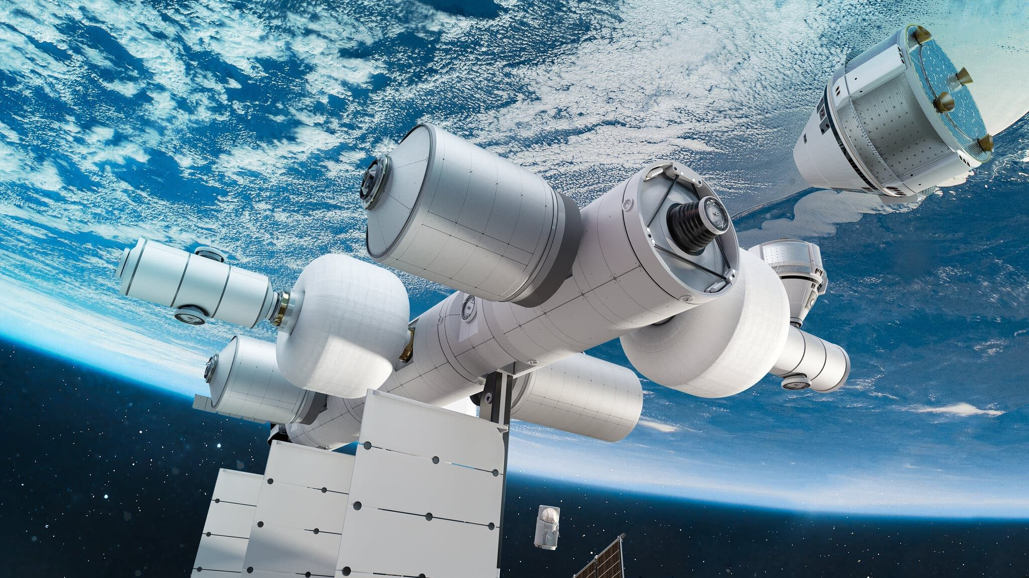 Jeff Bezos Is Building a Space Station That's Basically a Giant Business Park