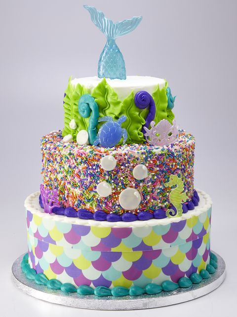 Surprising You Can Get A 3 Tier Mermaid Cake At Sams Club For Less Than 70 Funny Birthday Cards Online Alyptdamsfinfo
