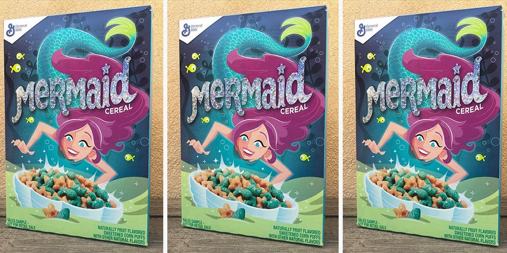Mermaid Cereal Is Swimming Into Stores, So Summer Can Start Now