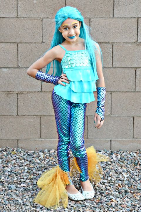 18 Diy Mermaid Costume Ideas Best Mermaid Halloween Costumes