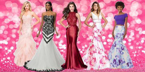 Gown, Dress, Fashion model, Clothing, Pink, Formal wear, Fashion, Haute couture, Event, Shoulder,