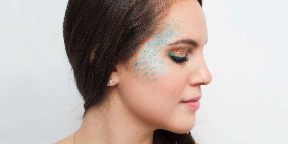 No Halloween Plans? Start Memorizing This Mermaid Makeup Tutorial RN
