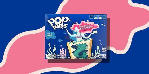 Mer-Mazing Blue Raspberry Pop-Tarts