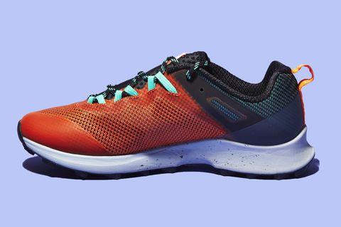 Shoe, Footwear, Outdoor shoe, Orange, Running shoe, Walking shoe, Product, Nike free, Sneakers, Athletic shoe,