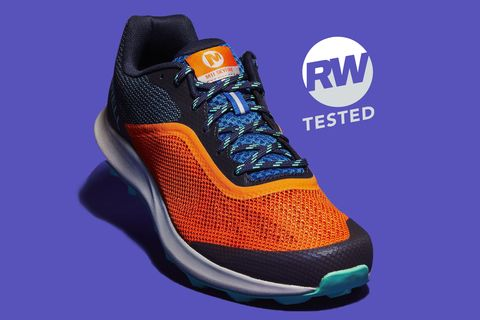 Shoe, Footwear, Orange, Outdoor shoe, Walking shoe, Product, Yellow, Sneakers, Athletic shoe, Electric blue,