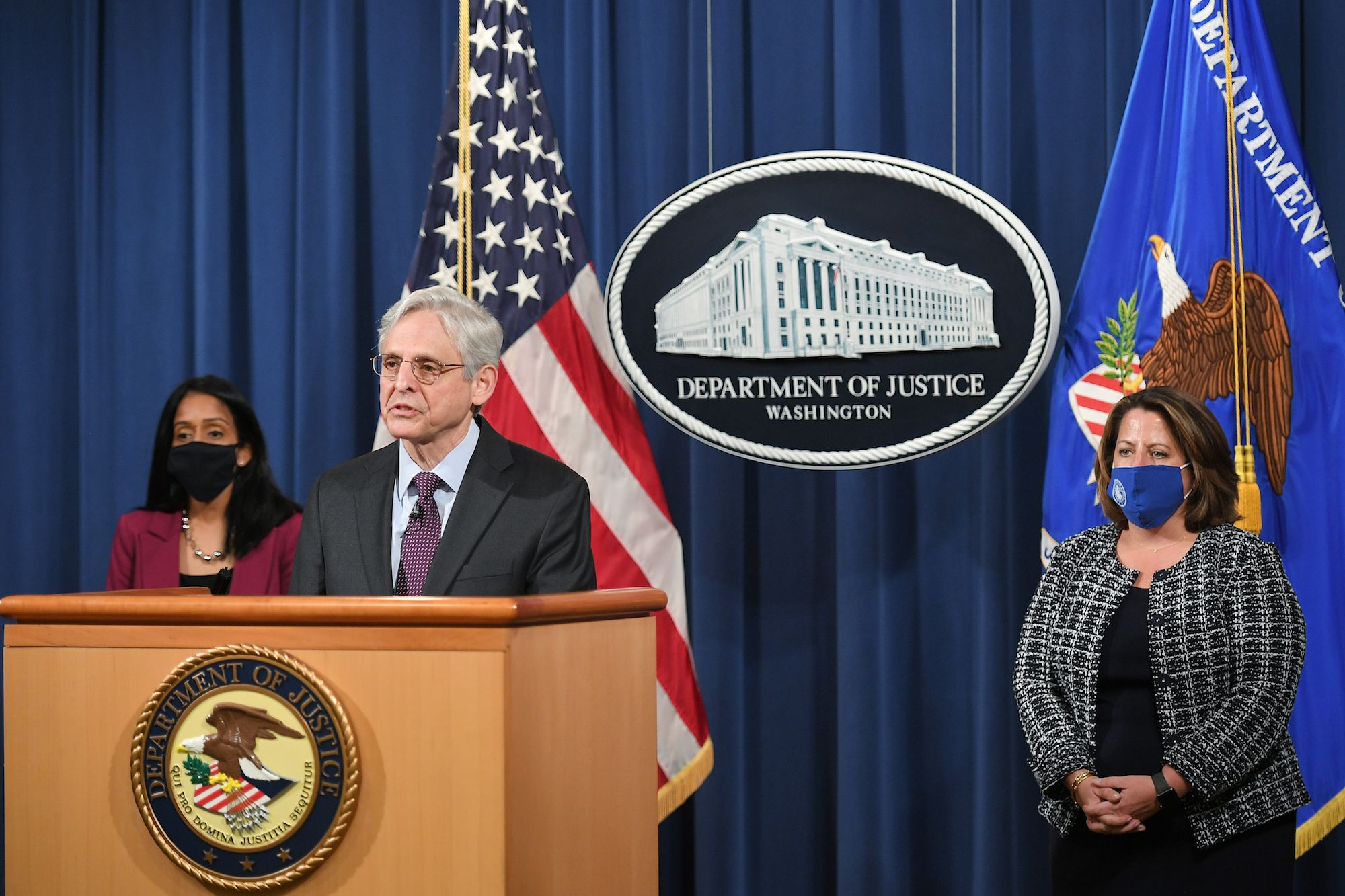 Merrick Garland Has Trained the Justice Department's Sights on the Cyber Ninjas