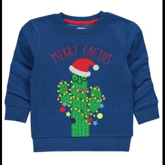 Merry Cactus Christmas Sweatshirt