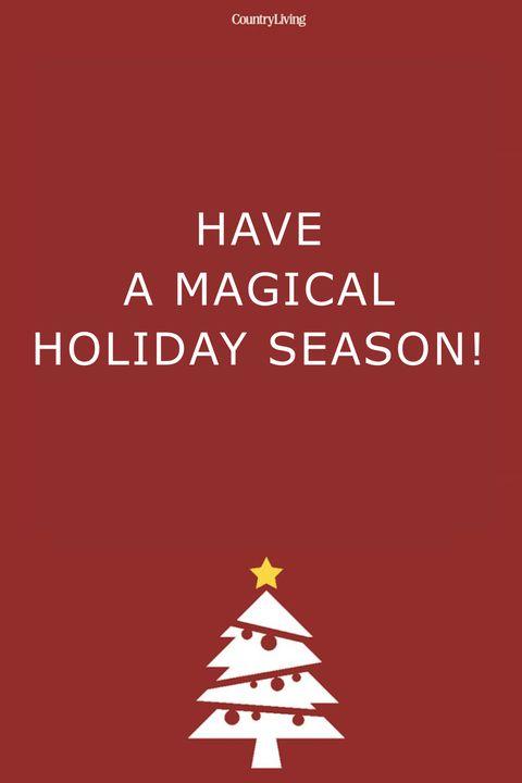 Merry Christmas Wishes Magical Holiday Season