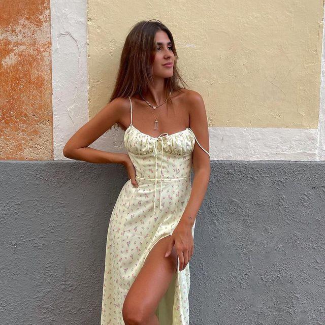 mery turiel con vestido de zara
