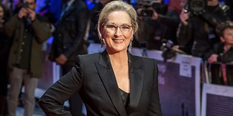 Meryl Streep at The Post premiere in London