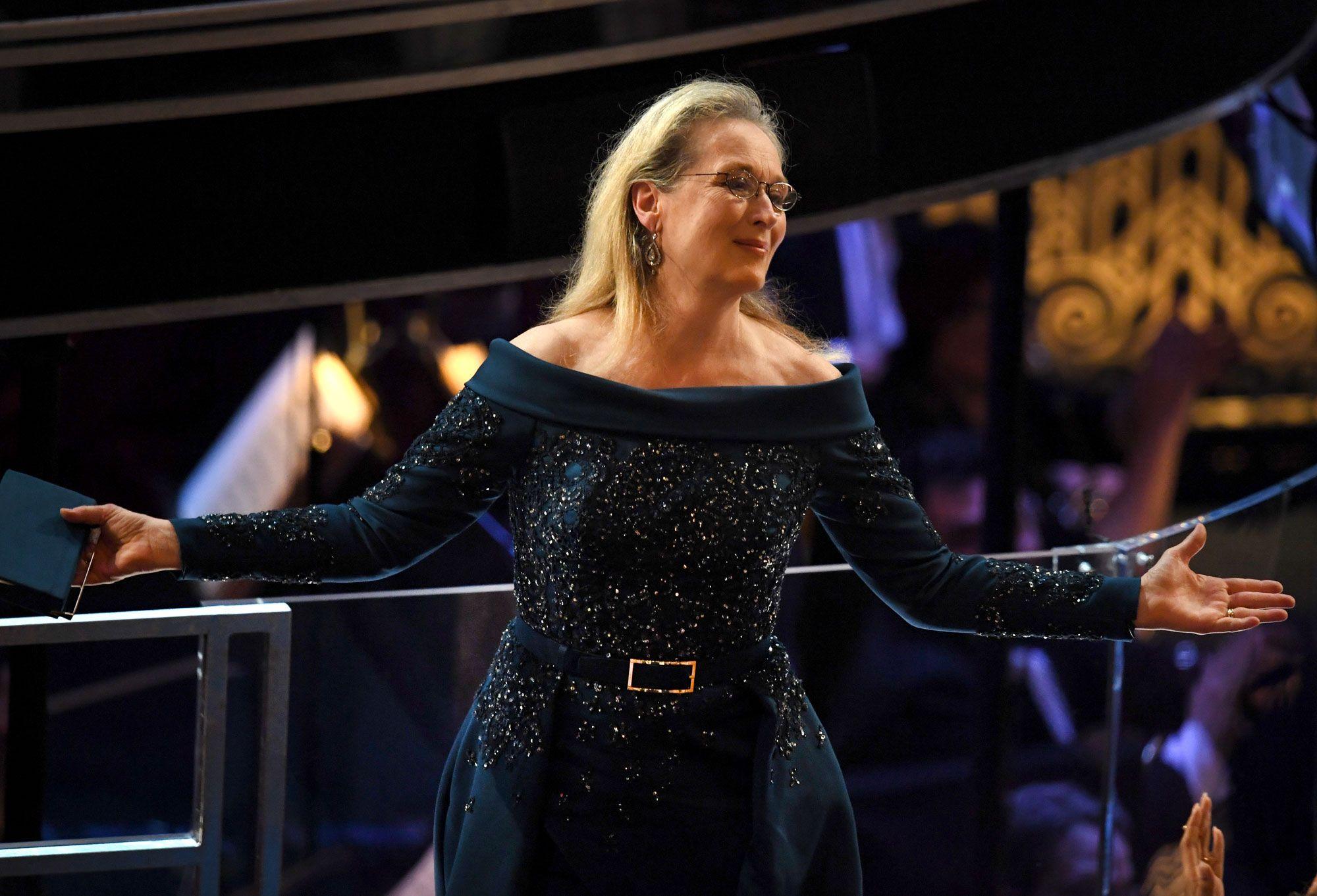 Merly Streep Dress on Oscar