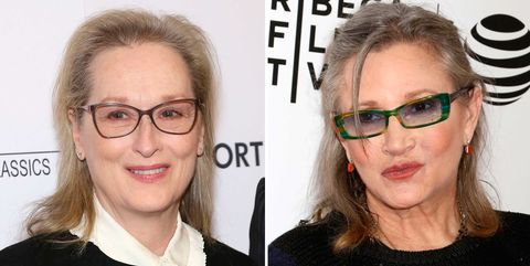 Meryl Streep Carrie Fisher