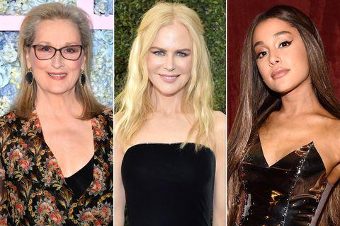 Nicole Kidman Meryl Streep Ariana Grande The Prom Netflix