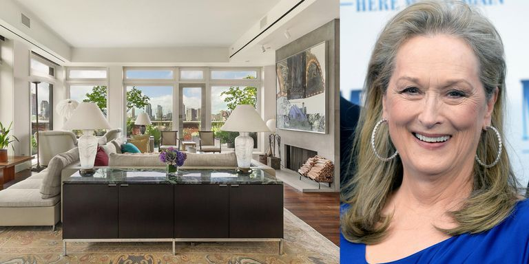 Meryl Streep's Waterfront TriBeCa Penthouse Is Back on The Market For $18.25 Million