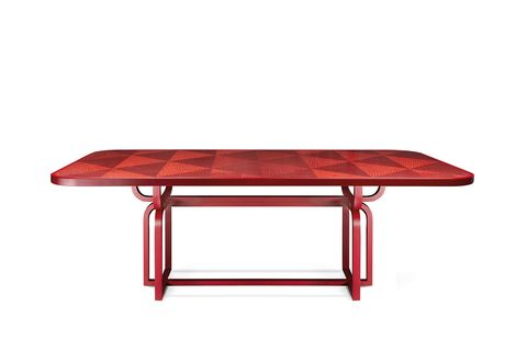 Furniture, Table, Outdoor table, Coffee table, Rectangle, Desk, Outdoor furniture, Oval, Metal, Sofa tables,