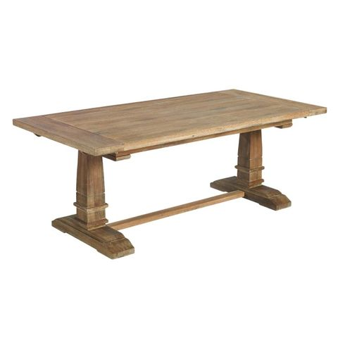 mesa de comedor de roble