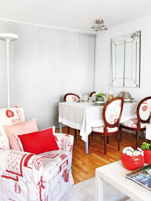 Room, Interior design, White, Table, Furniture, Interior design, Home, Home accessories, Light fixture, Grey,