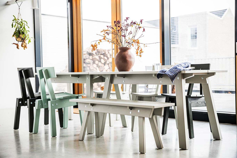 Mesa de la colección INDUSTRIELL de IKEA