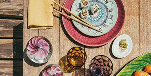 Mesa estilo japonés