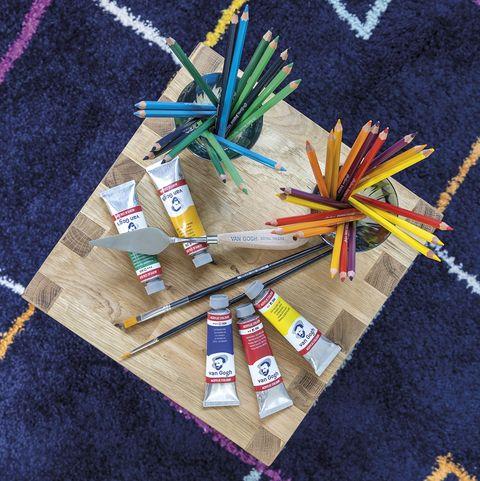 mesa infantil para manualidades