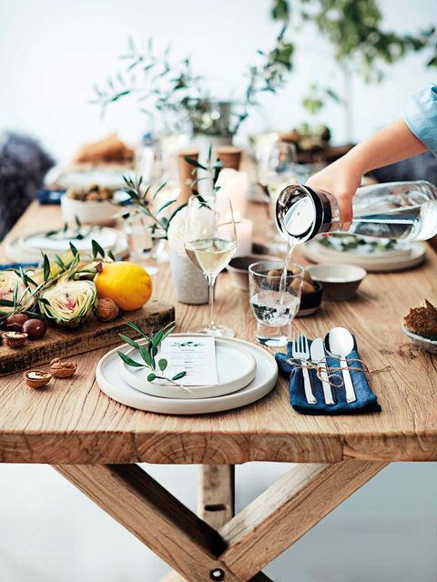 Copas y platos