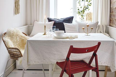 Mesa romántica para cena San Valentín