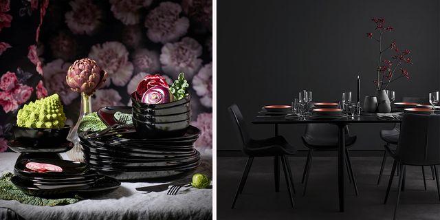 tendencias mesas en color negro