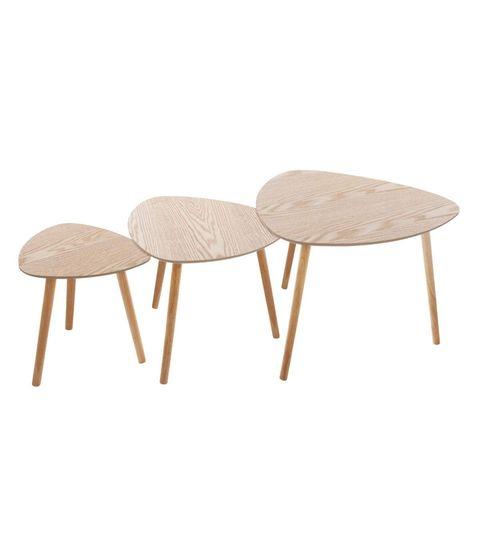 Mesas nido estilo escandinavo