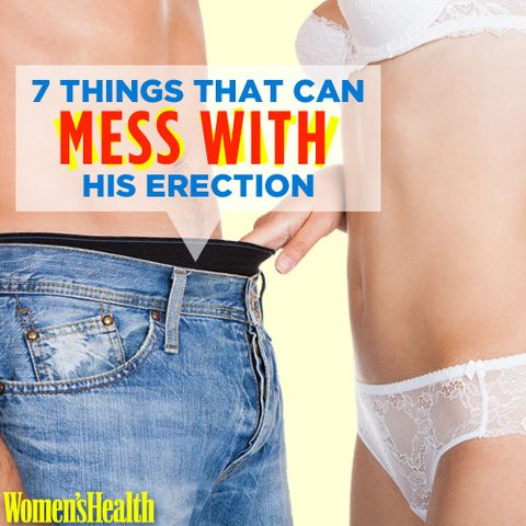 7 Things That Can Mess With His Erection