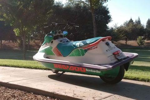moto de agua scooter