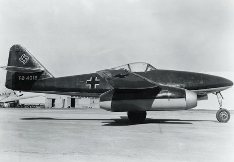 german world war ii jet fighter